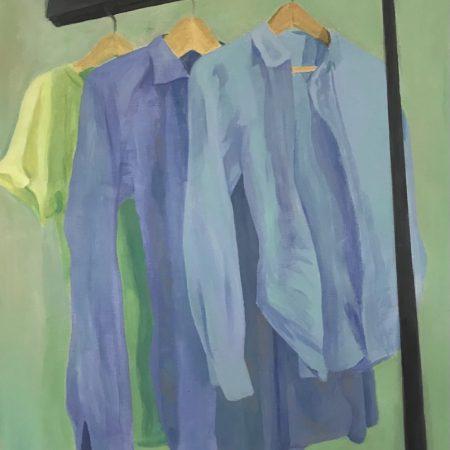 Threesome (acrylic on canvas, 50x60cm, 2021)
